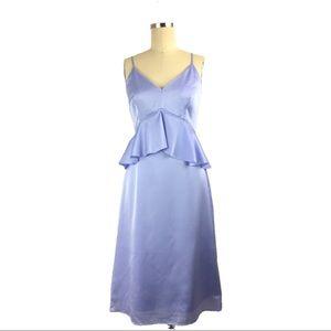 Banana Republic Sleeveless Ruffle Cut Dress, 2/XS